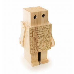 Cassa vino robot personalizzata