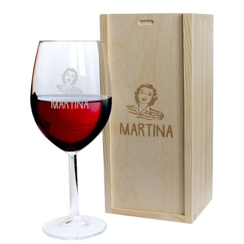 Calice da vino Mamma