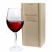Calice da vino con nome