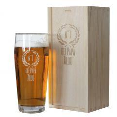 Bicchiere da birra di Papà personalizzato