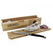 Salamoteca personalizzabile e coltello