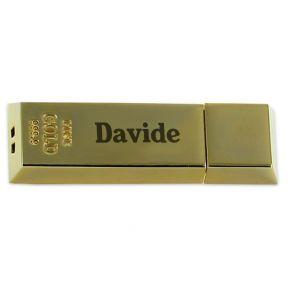 Chiavetta USB lingotto personalizzata