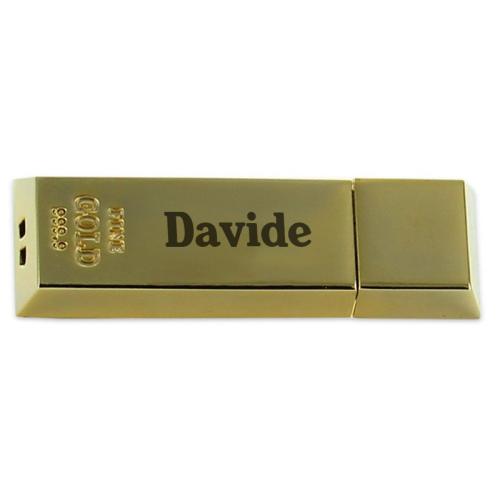 Chiavetta USB incisa