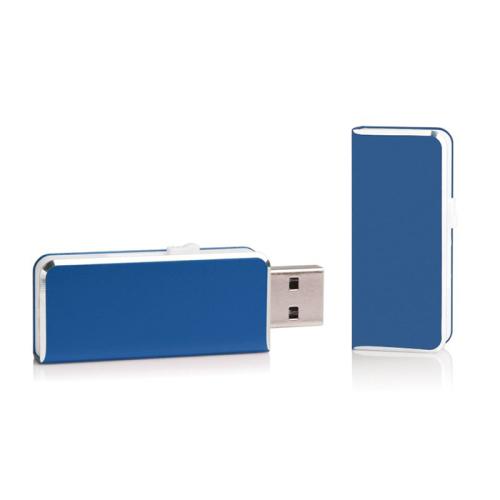 Chiavetta USB tascabile blu