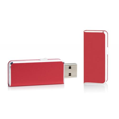 Chiavetta USB tascabile rossa