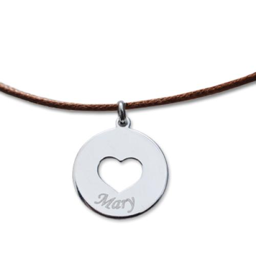 Collana cuore personalizzabile