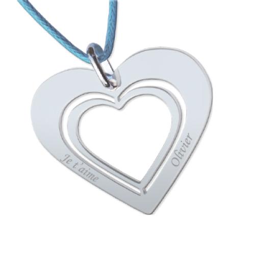 Cuore nel cuore personalizzato