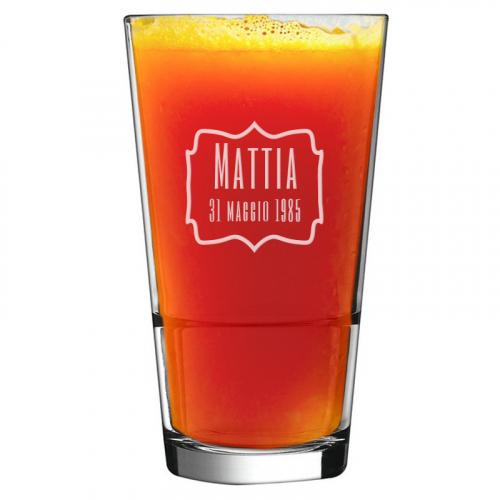 Bicchiere da cocktail per compleanno
