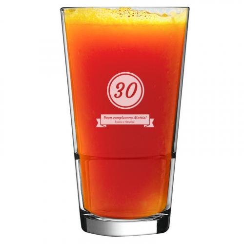Bicchiere da cocktail compleanno