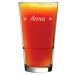 Bicchiere da cocktail stelline