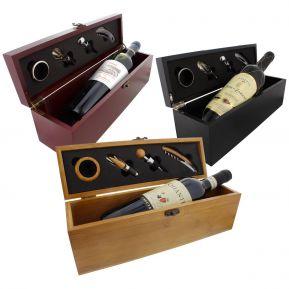 Cofanetto sommelier personalizzato con vino