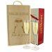 Cofanetto coppia di calici e champagne