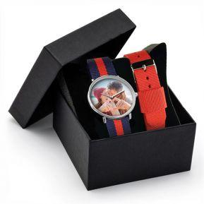 Cofanetto orologio NATO due cinturini personalizzato