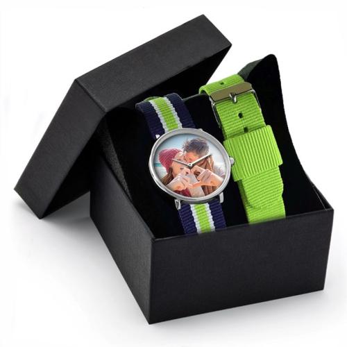 Cofanetto orologio NATO verde