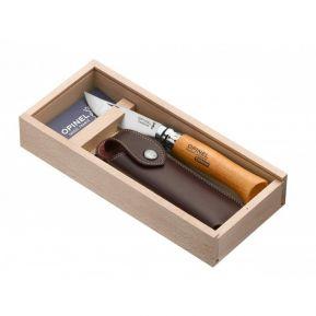 Cofanetto regalo Opinel n°8 Carbonio personalizzato
