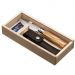 Cofanetto coltello Opinel n°8 in ulivo nome inciso