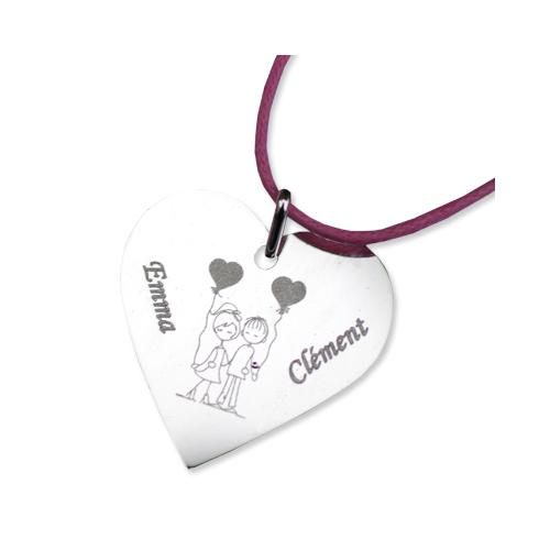Ciondolo personalizzabile san Valentino