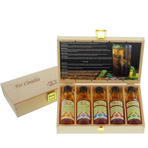 Cofanetto rum personalizzato