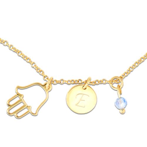 Originale collana con mano di Fatima