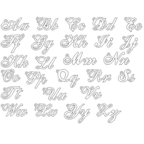 Carattere lettere