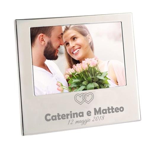 Cornice per matrimonio con nomi personalizzati