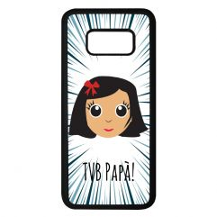 Cover iPhone o Samsung Galaxy personalizzata We are Family