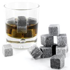 Set di 9 cubetti rinfrescanti da Whisky in granito
