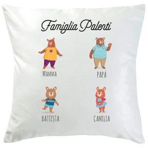 Cuscino famiglia Orsetti