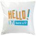 Cuscino personalizzato Hello