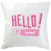 Cuscino personalizzabile Hello