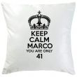 Cuscino Keep Calm personalizzato