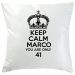 Cuscino Keep Calm nero