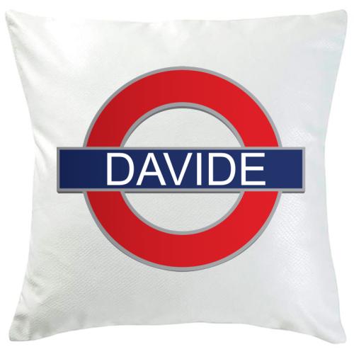 Cuscino metro Londra personalizzabile
