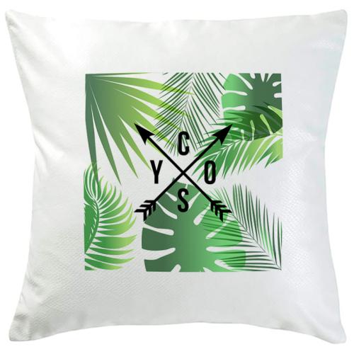 Cuscino personalizzato con iniziali Caledonia