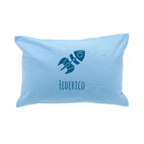 Cuscino rettangolare personalizzato con nome