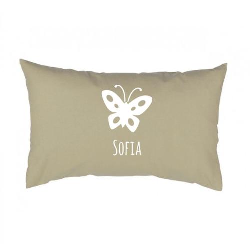 Cuscino rettangolare personalizzato con motivo decorativo
