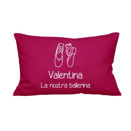 Cuscino rettangolare personalizzato colorato