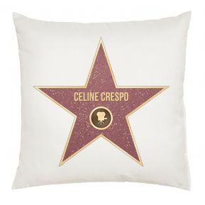 Cuscino stella Walk of fame personalizzato