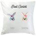 Cuscino personalizzato 2 animali