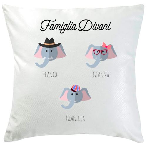 Cuscino personalizzato 3 animali