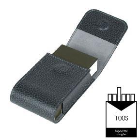 Custodia per pacchetto sigarette 100S in pelle personalizzato