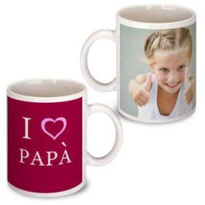 Tazza festa del papà personalizzata