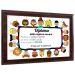 Diploma personalizzato su supporto in legno maestra