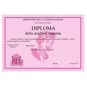 Diploma Festa della Mamma / Nonna