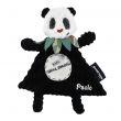Doudou baby Rototos il panda personalizzato