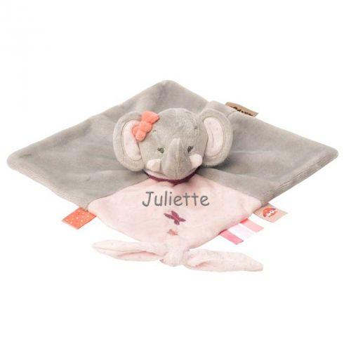 Doudou elefante personalizzato