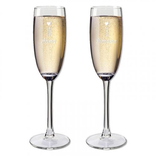 Flûte champagne personalizzabili