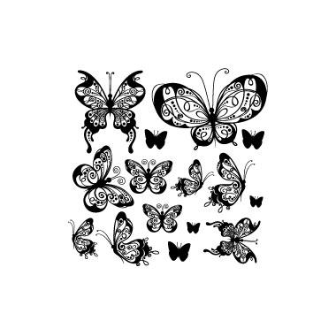Sticker Farfalle 2
