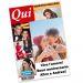 Finta prima pagina rivista di gossip