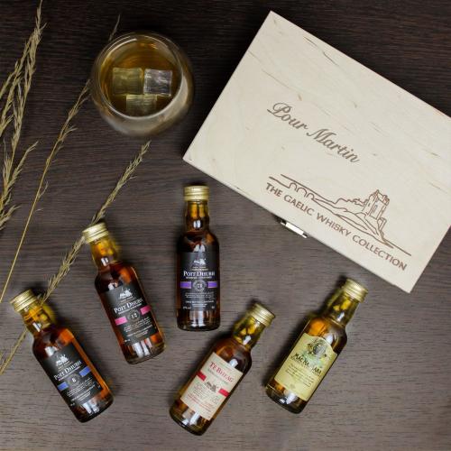 Cofanetto gaelic whisky collezione